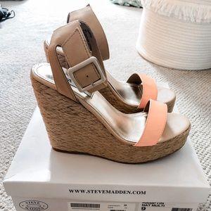 Steve Madden Hamptin Wedge Sandals